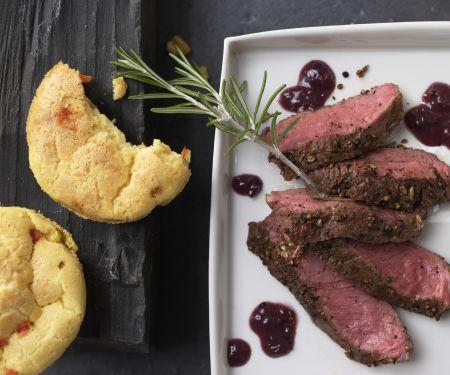 Steak in der Gewürzkruste