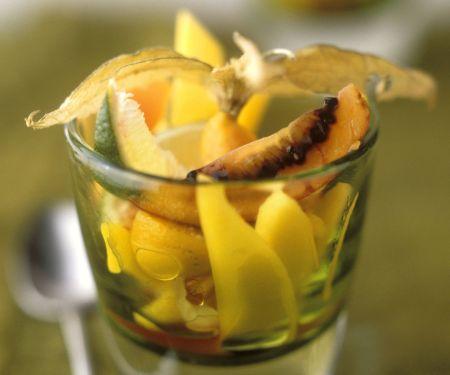 Südfrucht-Salat mit Wodka