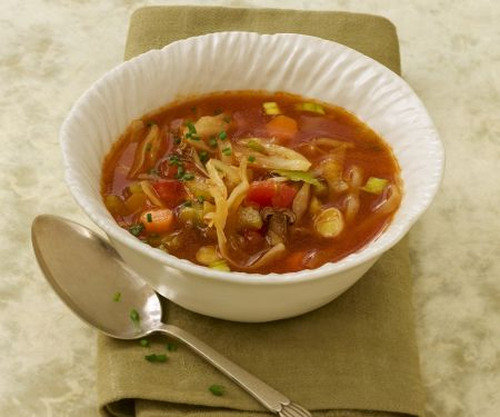 Suppe mit Kohl