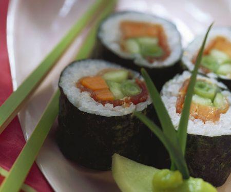 Sushi mit Thunfisch