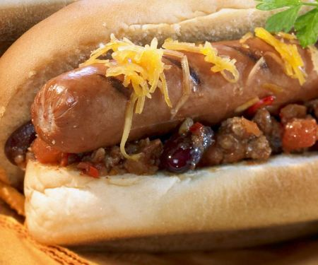 Texanischer Hot Dog