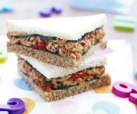 Thunfisch-Sandwichs