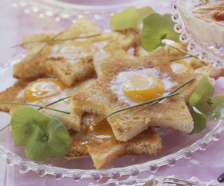 Toasts mit Ei