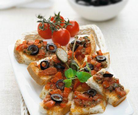 Tomaten-Crostini