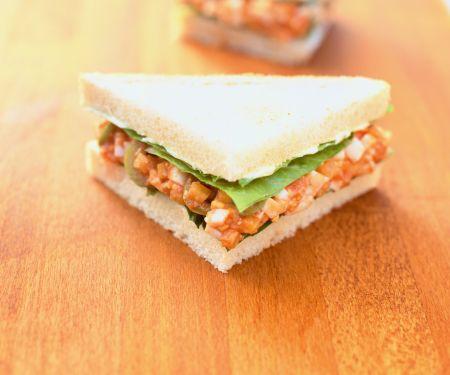 Tomaten-Ei-Sandwich