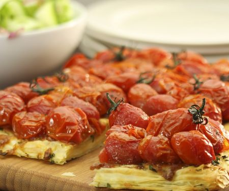 Tomaten-Tarte tatin