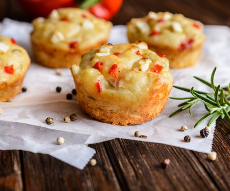 Tomatenmuffins von Cornelia Poletto