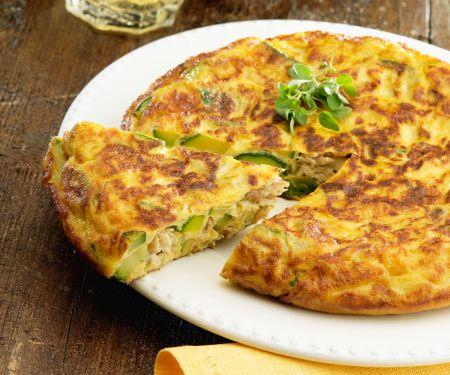 Tortilla mit Thunfisch