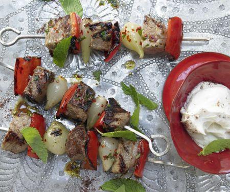 Türkische Fleischspieße