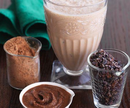 Vanille-Shake mit Kakaobutter