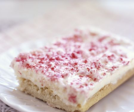 Vanillekuchen mit Bonbonkrümmeln