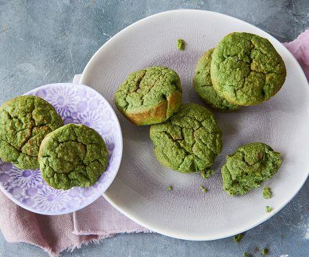 Vegane Green Muffins mit Banane