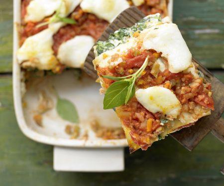 Vegetarische Lasagne – smarter