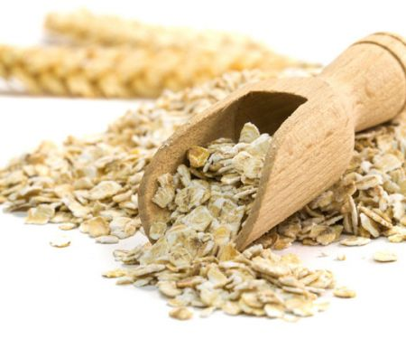 Verdauung - Haferflocken enthalten Ballaststoffe