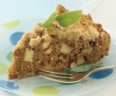 Vollkorn-Apfelkuchen