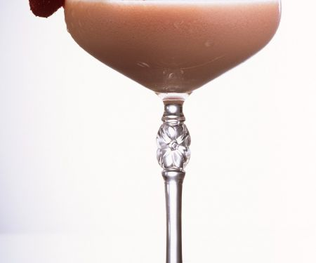 Whisky-Erdbeer-Cocktail