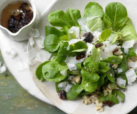 Winterlicher Feldsalat