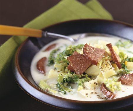 Wirsing-Kartoffelsuppe