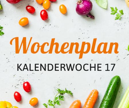Wochenplan KW 17