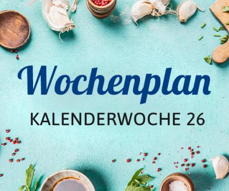 Wochenplan KW 26