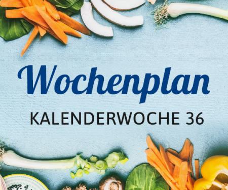 Wochenplan KW 36