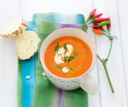 Würzige Paprika-Suppe