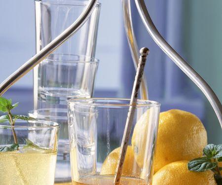 Zitronen-Scherbett