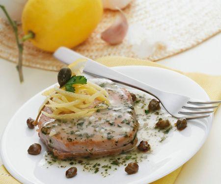 Zitronen-Thunfisch