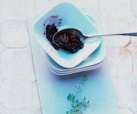 Zitronengras-Brombeer-Marmelade