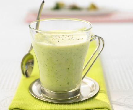 Zucchini-Buttermilch-Drink