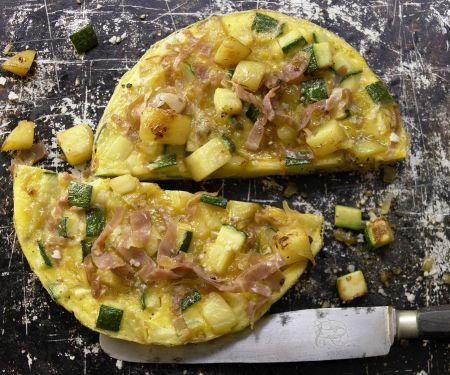 Zucchini-Kartoffel-Tortilla