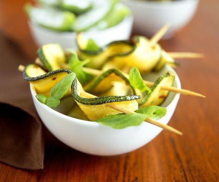 Zucchini-Spieße