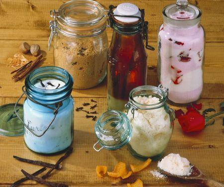 Zucker mit verschiedenem Aroma