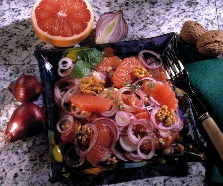 Zwiebel-Grapefruit-Salat