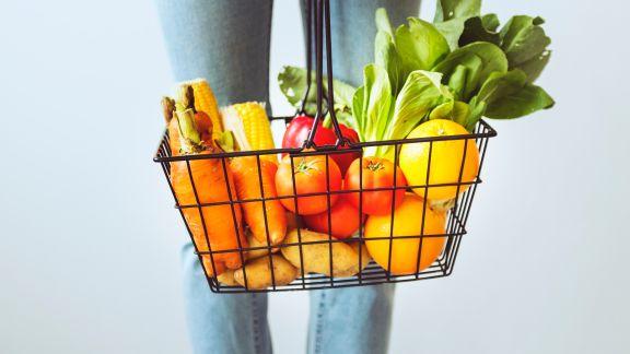 Ausgewogene Ernährung für einen normalen Menschen