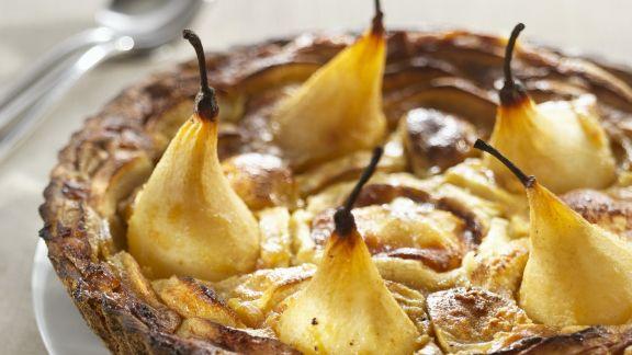 Rezept: Birnenkuchen