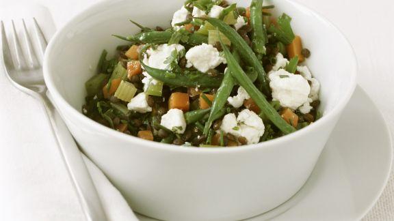 Rezept: Bunter Gemüsesalat