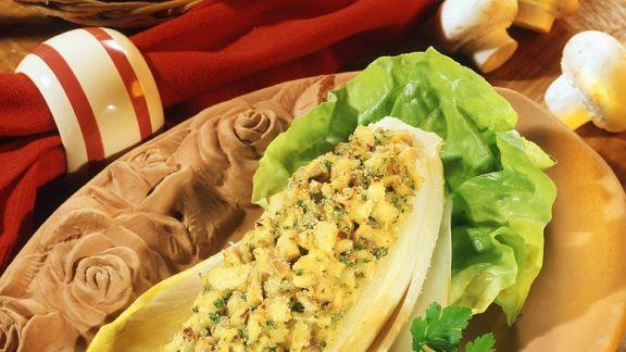Rezept: Überbackener Chicorée