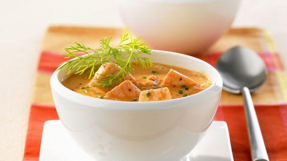Rezept: Lachssuppe auf kalifornische Art