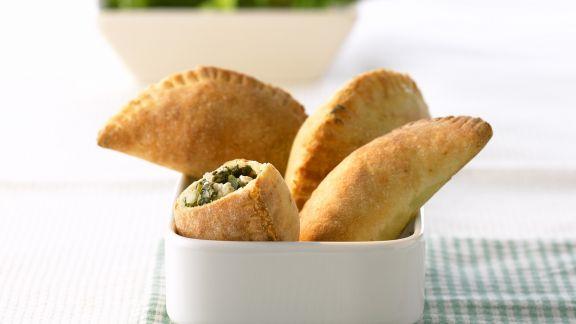 Rezept: Schafskäse-Spinat-Taschen