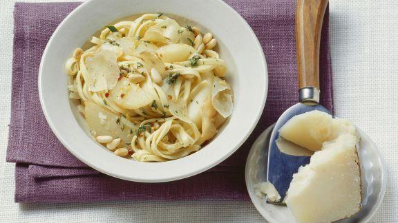 Rezept: Pasta mit Birnen auf toskanische Art