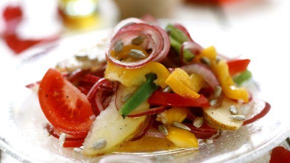 Rezept: Fruchtiger Gemüsesalat