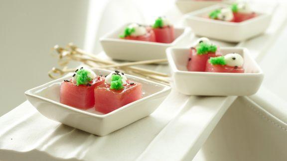Wasabi-Tobiko Rezepte