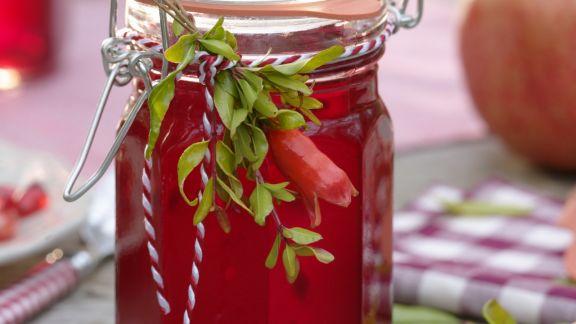 Rezept: Granatapfelkonfitüre