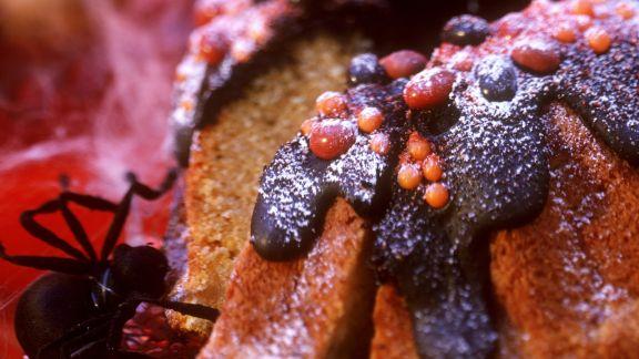 Rezept: Süßer Kürbiskuchen zu Halloween