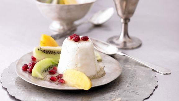Rezept: Joghurtpudding mit Früchten