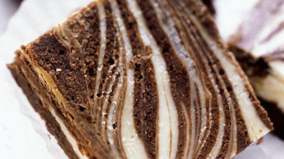 Rezept: Brownie-Käsekuchen