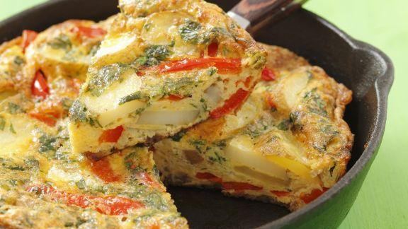 Rezept: Kartoffel-Parika-Tortilla