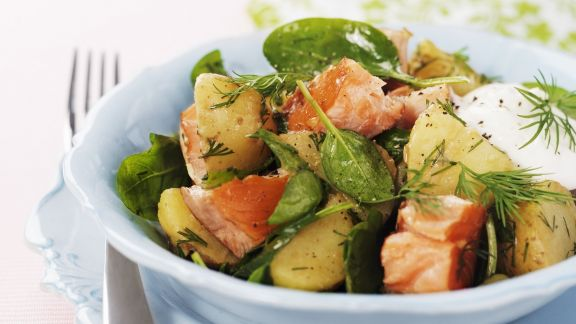 Rezept: Kartoffel-Lachs-Salat