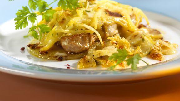 Rezept: Überbackene Schnitzel